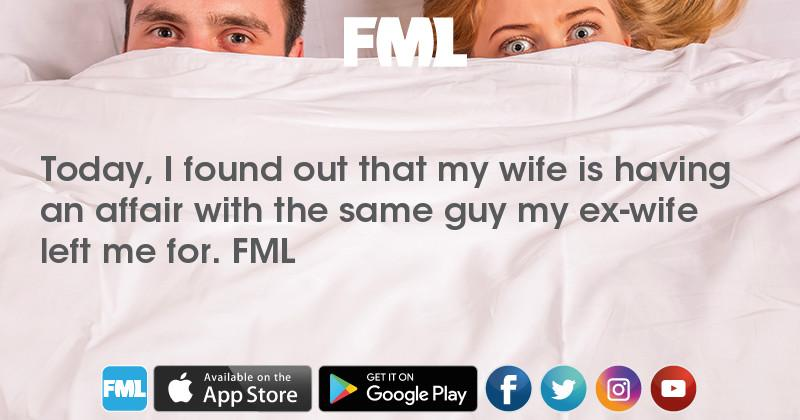 wife found out about affair