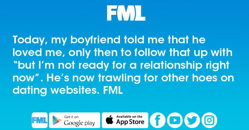 not looking for a relationship right now