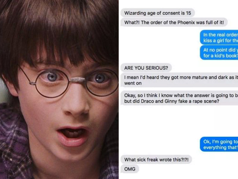 Harry Potter' Noob Realizes He's Five Books Into Erotic Fan Fiction