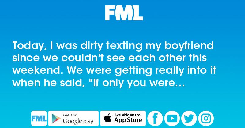 really dirty texts to send your boyfriend