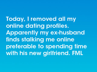 Ex viewed my dating profile