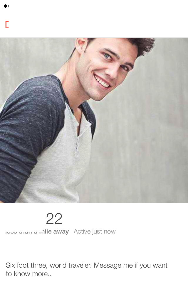 FMLNews: This Guy Made A Fake Tinder Profile To Prove That