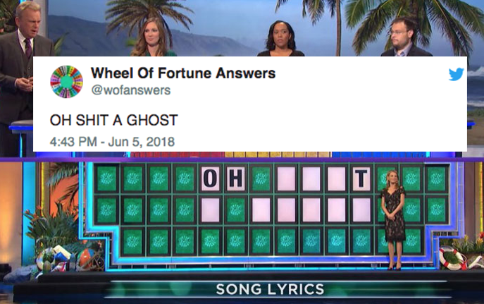 FML : This Twitter Account Is Confidently Guessing 'Wheel Of