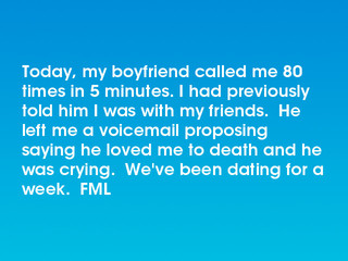 Weve been dating for 5 weeks