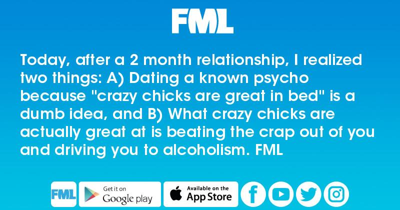 dating crazy chicks