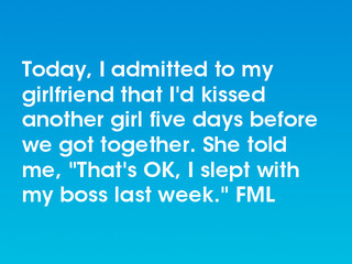 my girlfriend kissed another girl