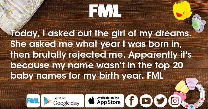 What's in a name? - FML